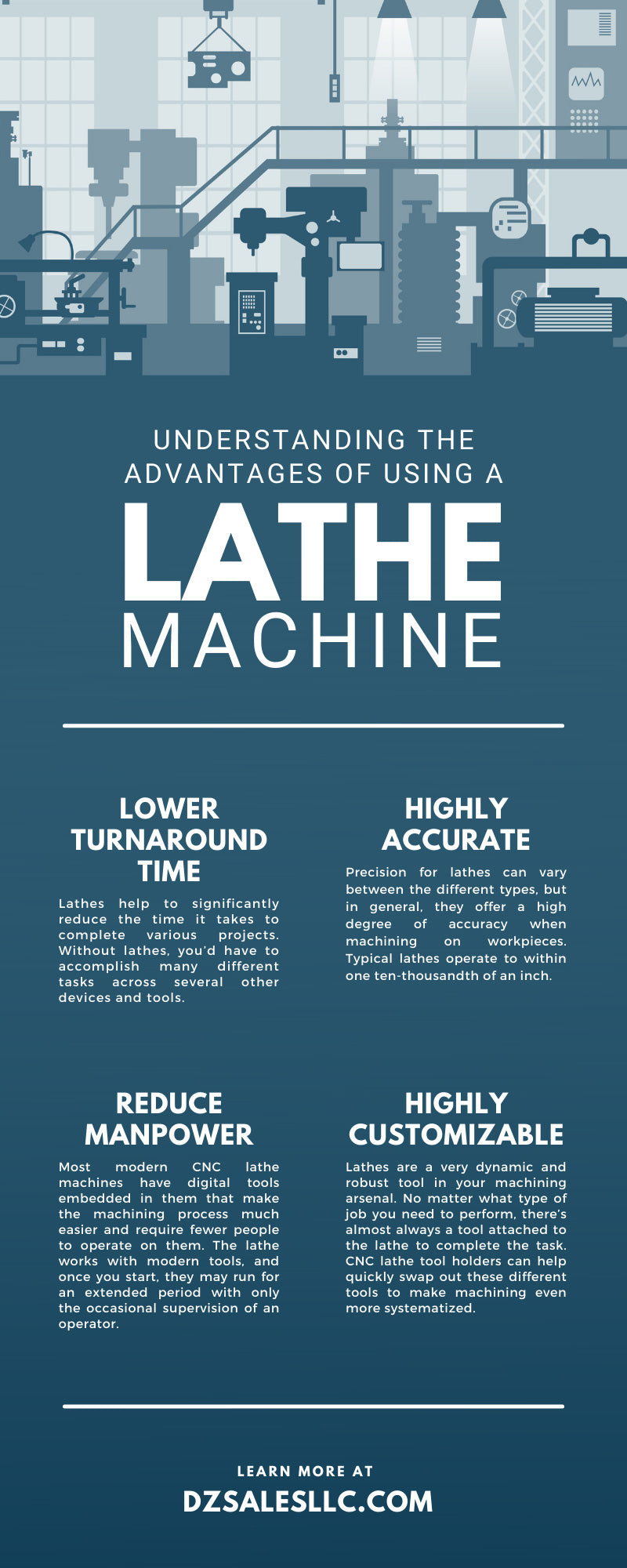 Understanding the Advantages of Using a Lathe Machine