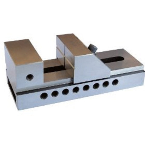 Back view of a 6-inch precision vise.