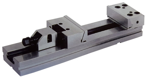 Right-hand view of a 200mm x 400mm modular vise.