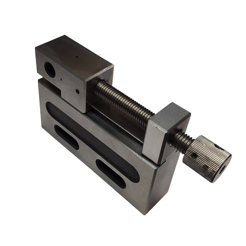 Right-hand view of a 50mm EDM vise.