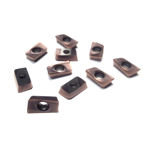 16mm Carbide Milling Inserts for Rough Machining (10 Pack)