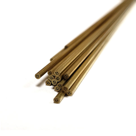 Metric Brass Electrodes 1.5mm x 400mm - 20 Pack