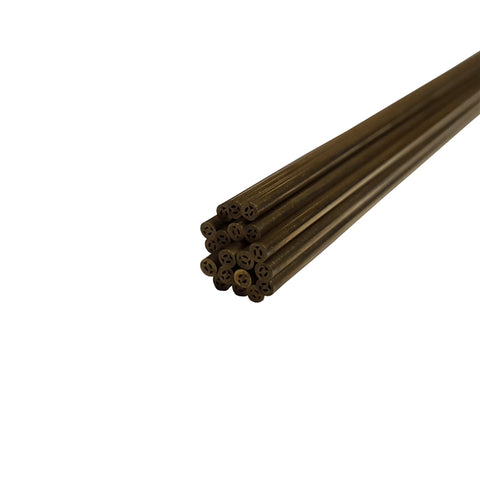 Metric Brass Electrodes 2mm x 400mm - 20 Pack
