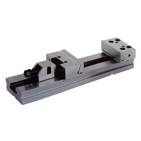 Right-hand view of a 150mm x 300mm modular vise.