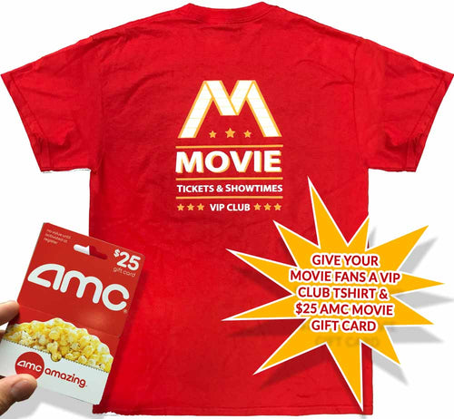 VIP Club Movie Gift Card Red