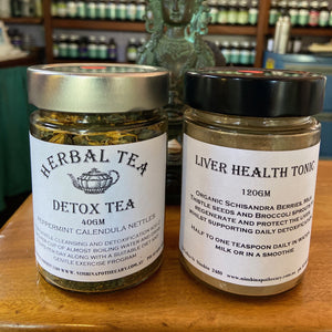 SPRING Package - Liver Support Powder + Detox Tea