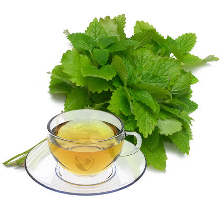 Nimbin apothecary sells lemon balm leaves online, a calming herb to relieve stress and assist sleep