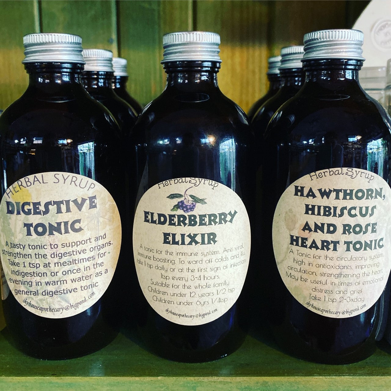 Elderberry Elixir - Skyhouse Apothecary