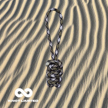 Load image into Gallery viewer, Knot Limited Snake Camo Whatknot on Sand Background