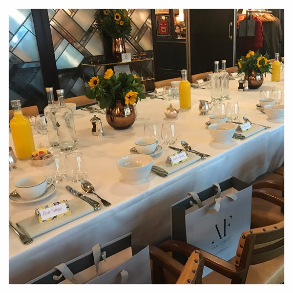 AF Handbags 'Breakfast Launch Event' at The Ivy in Soho London