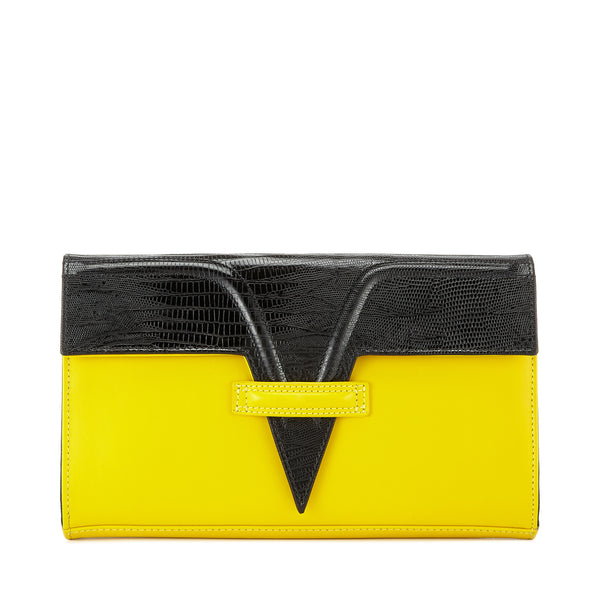 Lemon Metise Clutch
