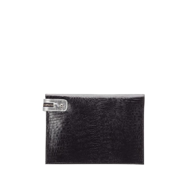 Metallic Silver Everyday Wallet
