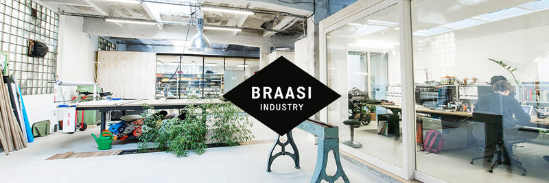Braasi Industry. Des sacs à dos urbains made in Prague.