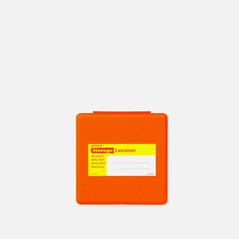 Hightide Storage Container Small Orange Front