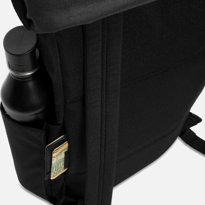 Timbuk2 Hero Laptop Backpack Jet Black Hidden Pocket
