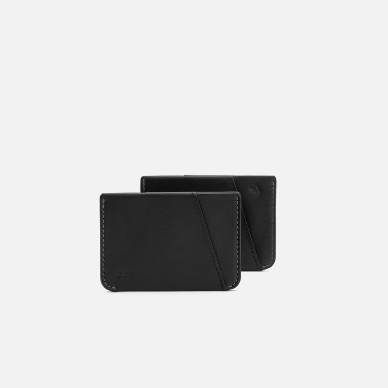 Bellroy Micro Sleeve Black two sides