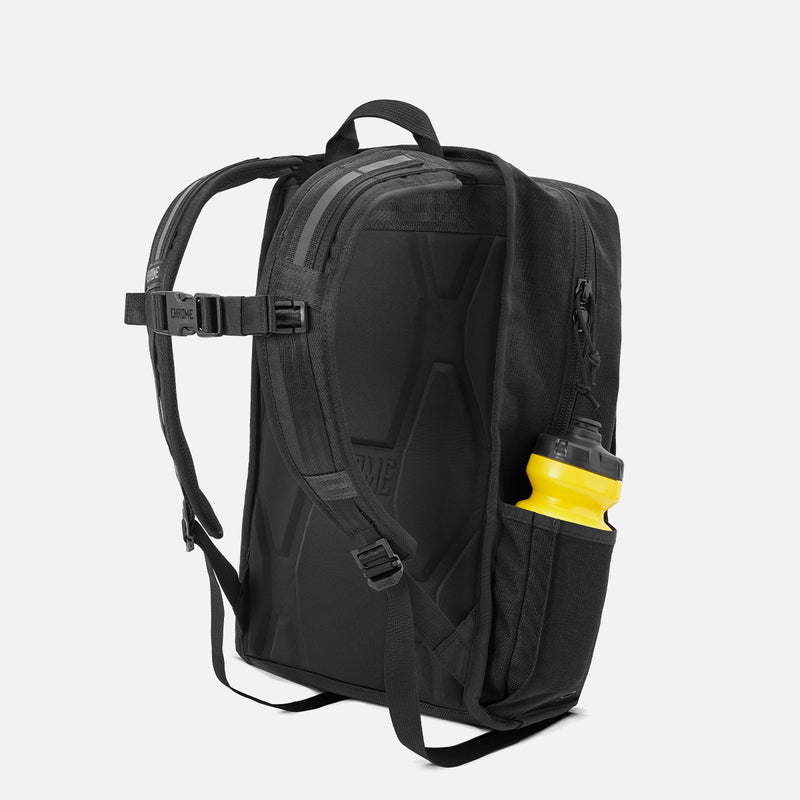 Chrome Industries Hondo Backpack All Black back view