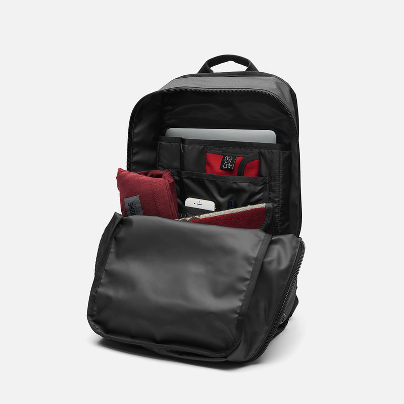 Chrome Industries Hondo Backpack All Black inside view
