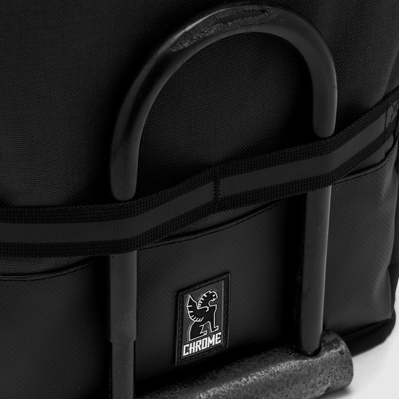 Chrome Industries Hondo Backpack All Black u lock on straps