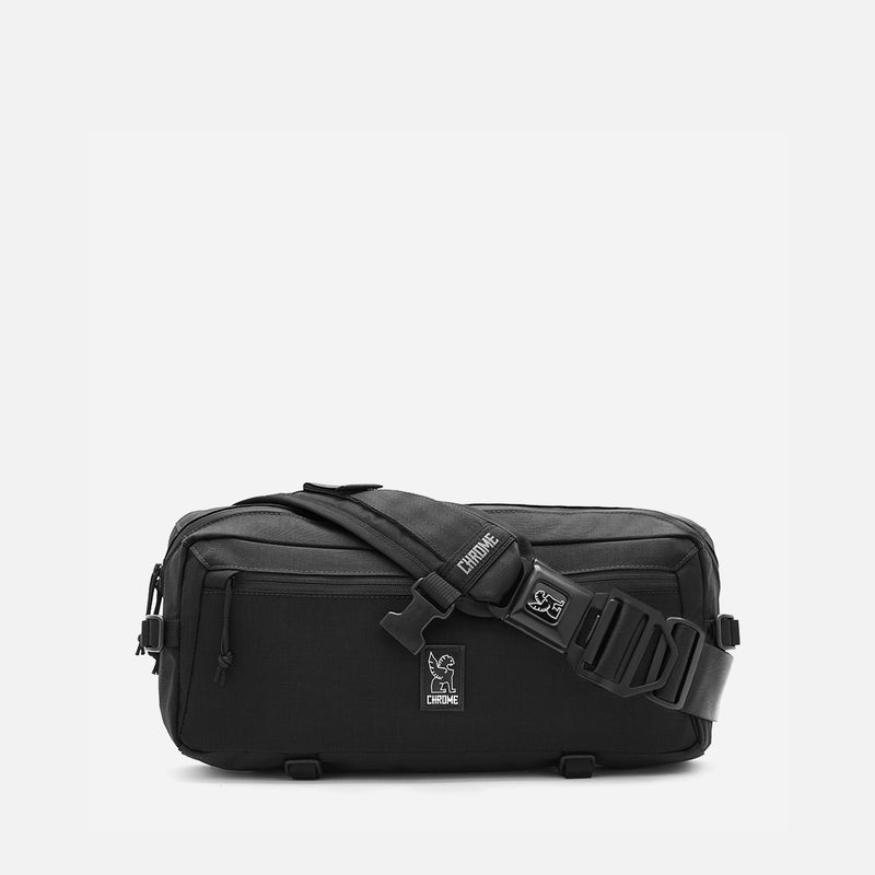 Chrome Industries Kadet Black Aluminium front view