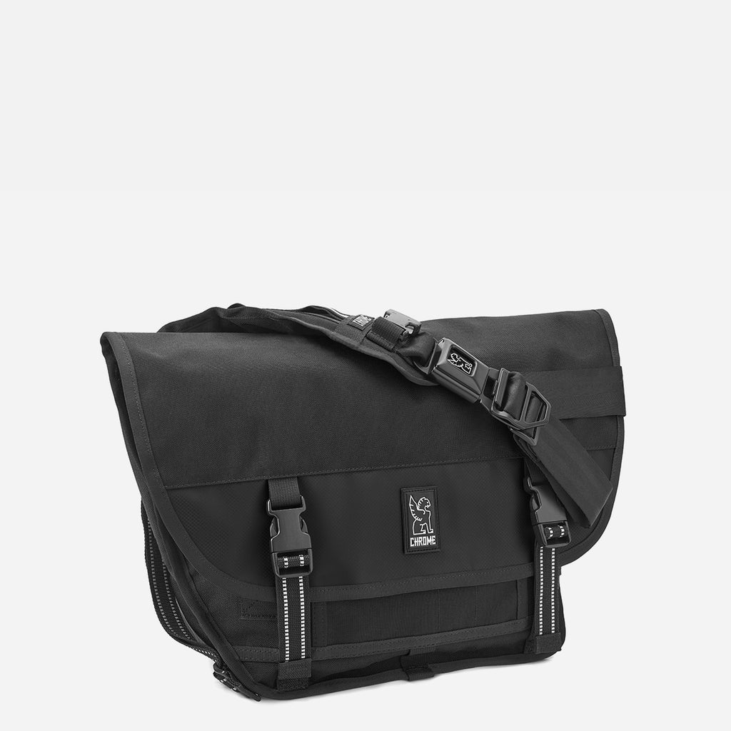 Chrome Industries Mini Metro All Black diagonal view