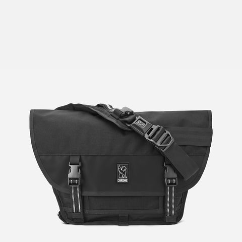 Chrome Industries Mini Metro All Black front view