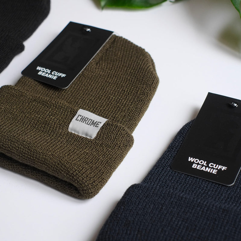 Chrome Industries Wool Cuff Beanie collection fabric