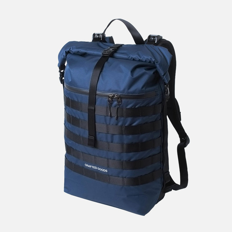 Crafted Goods Rigi Navy front view