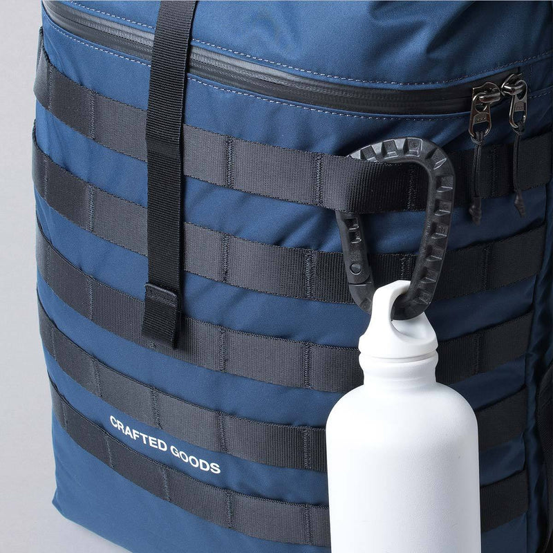Crafted Goods Rigi Navy with bottle