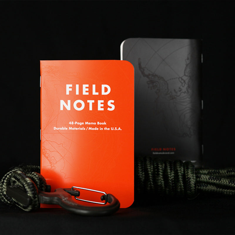Field Notes Expedition orange cover view