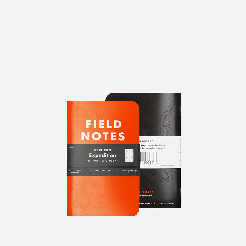 Field Notes Expedition front view