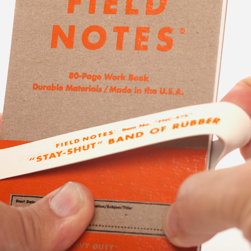 Field Notes Heavy Duty rubber band