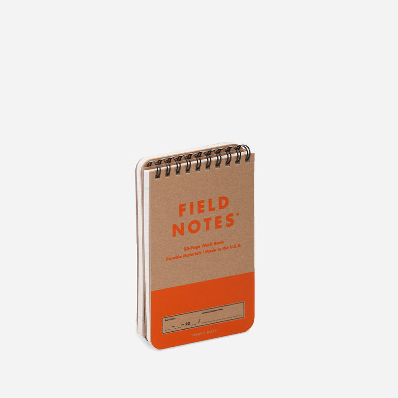 Field Notes Heavy Duty pack side view