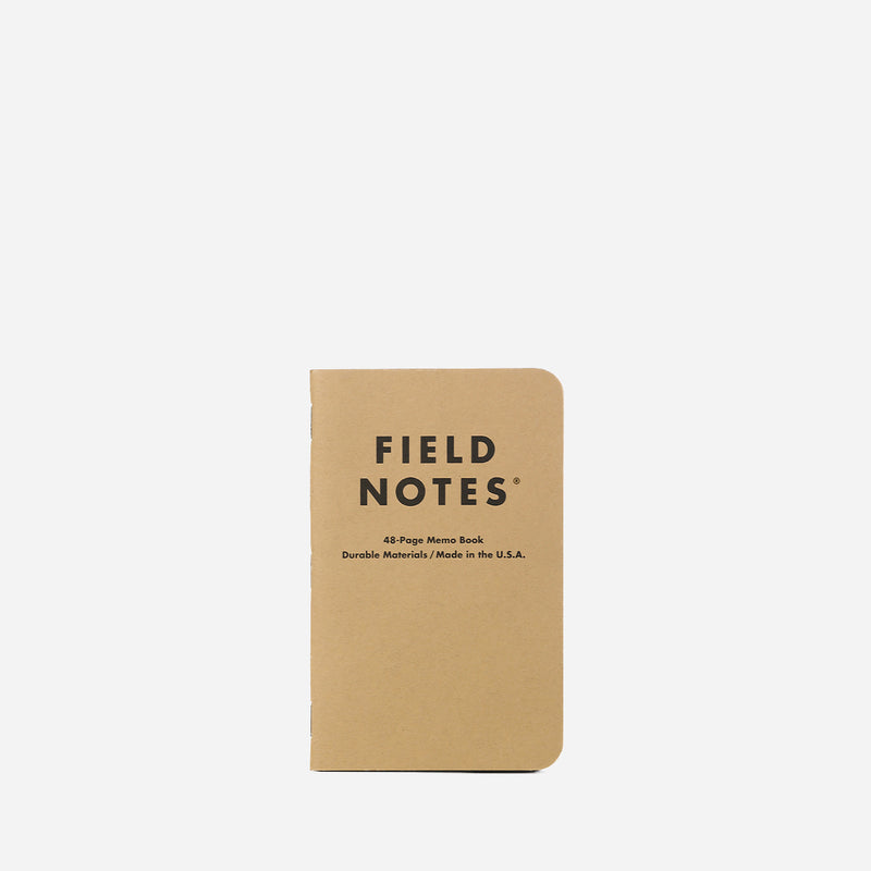 Field Notes Original Kraft Ruled front view