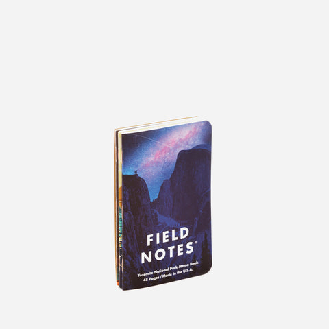 Field Notes National Parks A pack view