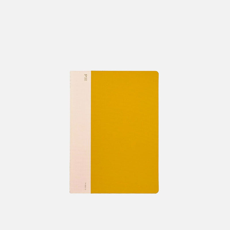 Hightide Cheesecloth Notebook Yellow front view
