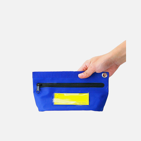 Hightide tarp Pouch Blue Small front view