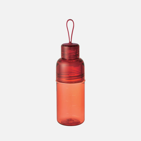Kinto Workout Bottle Red front view