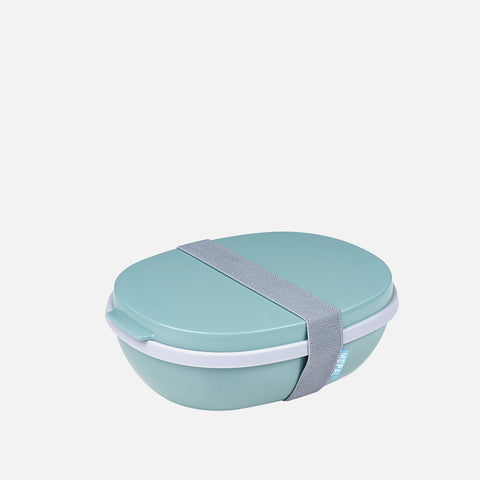 Mépal Lunch Box Ellipse Nordic Green front view