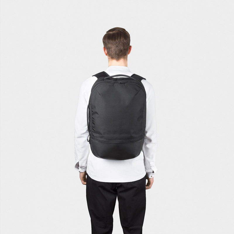 OPPOSETHIS Invisible Carry-on backpack on the back
