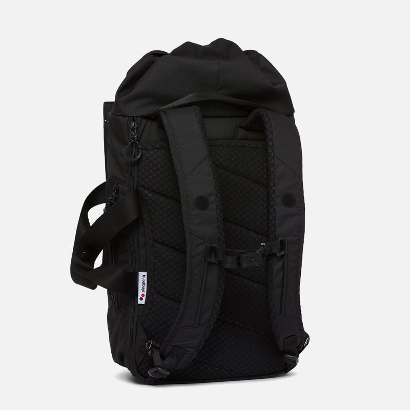 Pinqponq Blok Medium Rooted Black back view