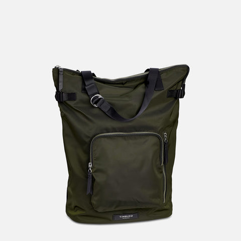 Timbuk2 Convertible Backpack Tote Army front