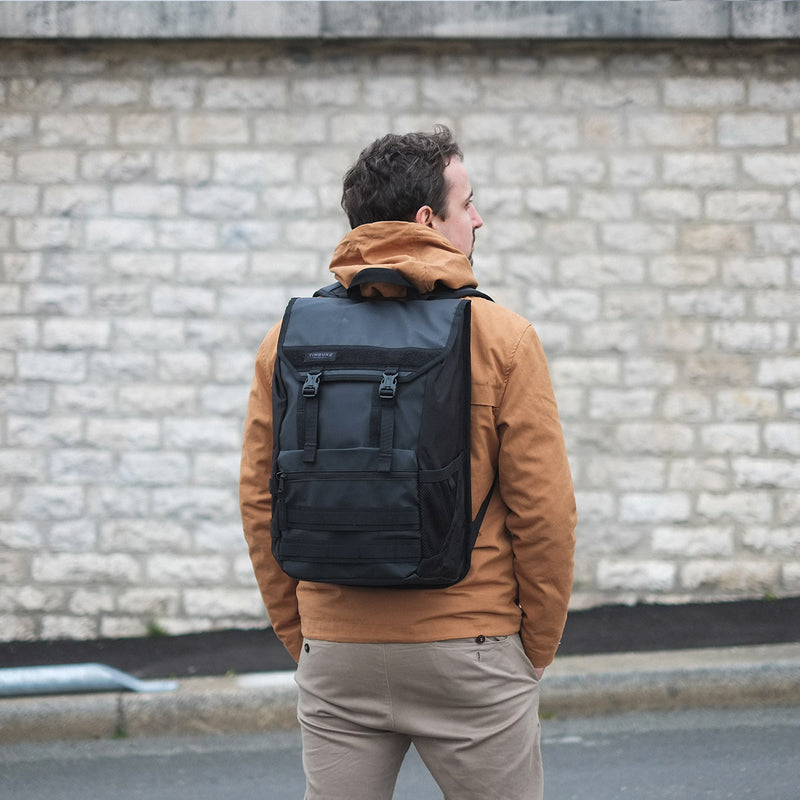 Timbuk2 Rogue Laptop Backpack male model back