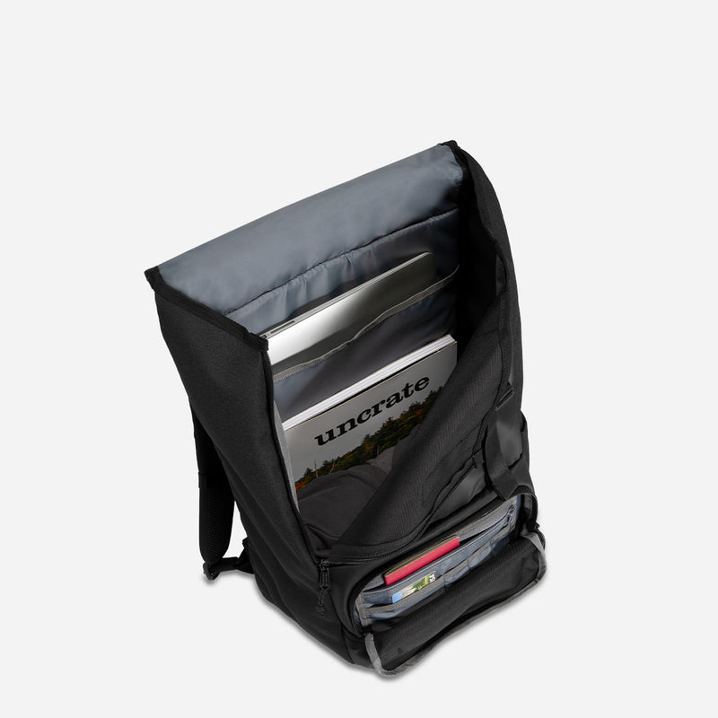 Timbuk2 Rogue Laptop Backpack 2.0 Black inside view