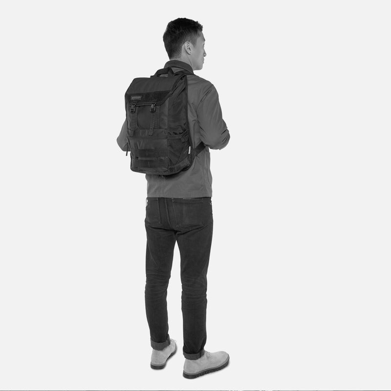 Timbuk2 Rogue Laptop Backpack on the back - man