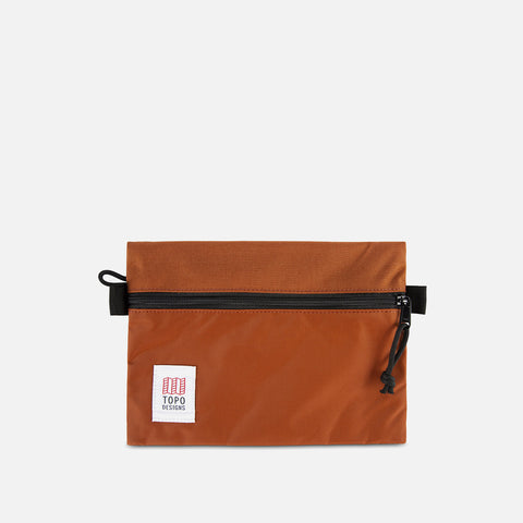Topo Designs Accessory Bag M Clay front view