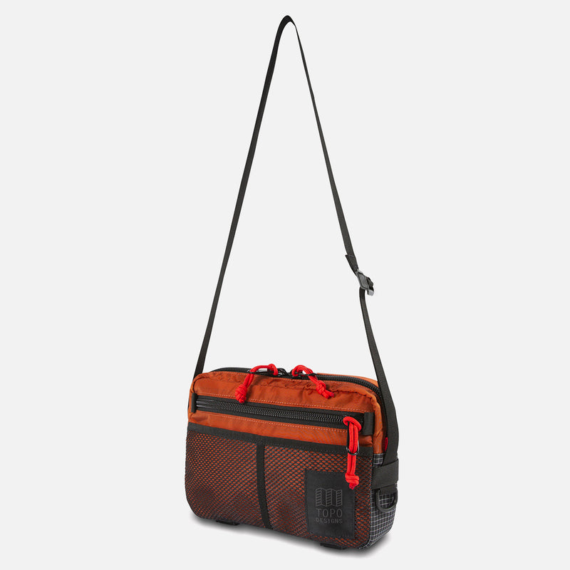 Topo Designs Block Bag Clay side view