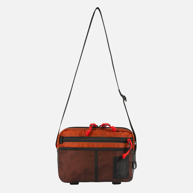 Topo Designs Block Bag Clay front view