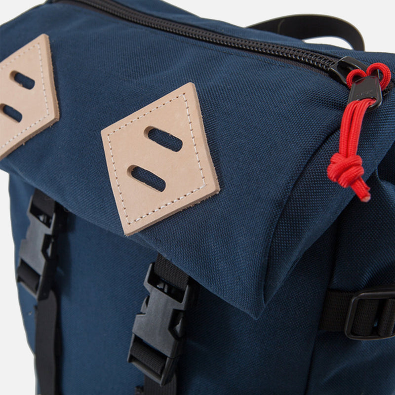 Topo Designs Klettersack Navy front pocket view