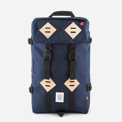 Topo Designs Klettersack Navy front view